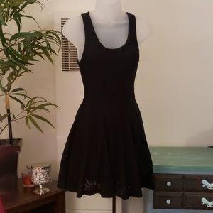 Super cute EXPRESS short black dress